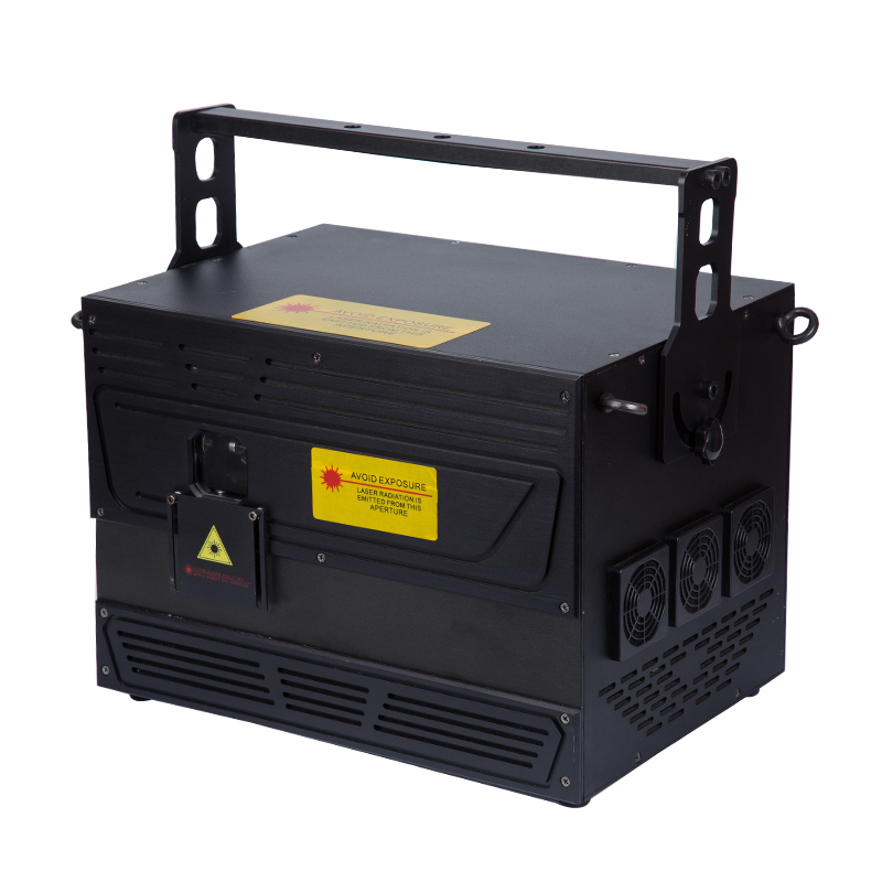 KZ-5000MW full -color moving deputy laser light