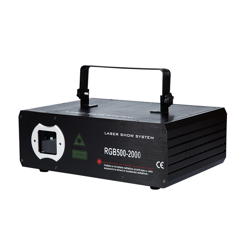 KZ-2000MW RGB full color moving deputy laser light