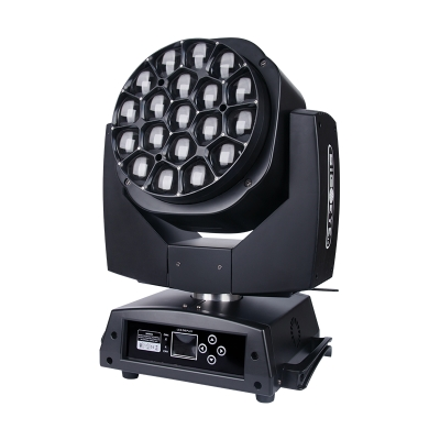 19*15W big bee eyes RGBW LED beam moving head light